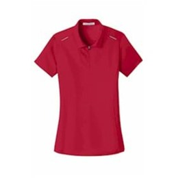 Port Authority | Port Authority® Ladies Pinpoint Mesh Zip Polo