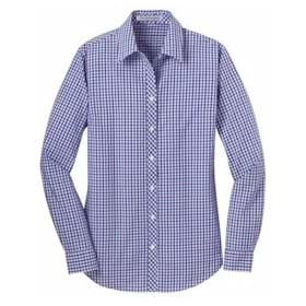 Port Authority LADIES' L/S Gingham Easy Care Shirt