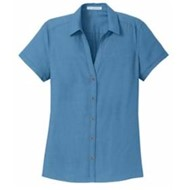 Port Authority | Port Authority LADIES' Textured Camp Shirt