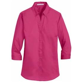 Port Authority LADIES' 3/4-Sleeve Twill Shirt
