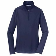 Port Authority | Port Authority LADIES' Pinpoint Mesh 1/2-Zip