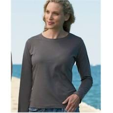 L/S LAT LADIES' Ringspun T-Shirt