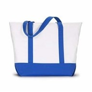 Liberty Bags | Liberty Bags Bay View Giant Zippered Boat Tote