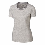 Cutter & Buck | Cutter & Buck Ladies Advantage Space Dye Tee