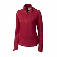Cutter & Buck | Cutter & Buck LADIES' L/S Decatur Pima Half Zip