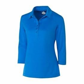 Cutter & Buck DryTec 3/4 Sleeve Chelan Polo