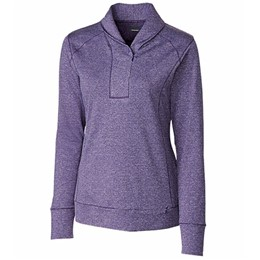 Cutter & Buck | Cutter & Buck LADIES' Shoreline Half Zip Pullover
