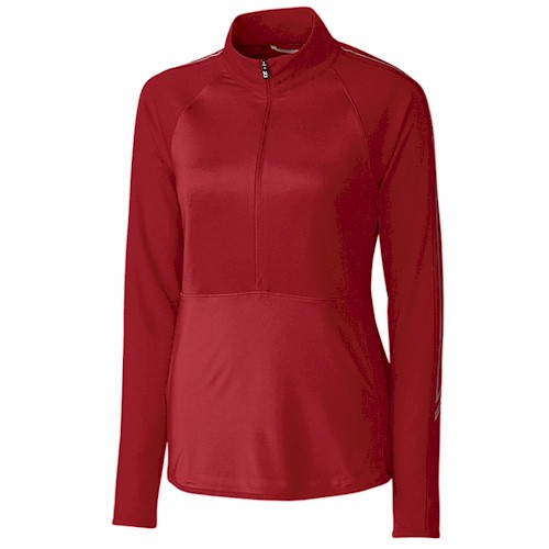 Cutter & Buck LADIES' Pennant 3/4 Zip Pullover