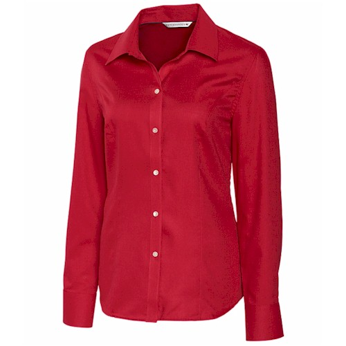 Cutter&Buck LADIES' L/S Epic Easy Care Nailshead