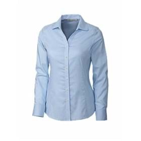 Cutter & Buck LADIES' L/S Easy Care Tattersall