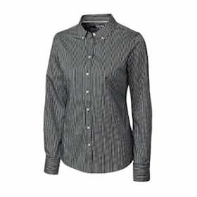 Cutter & Buck LADIES' L/S Pin Stripe Shirt