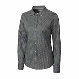 Cutter & Buck | Cutter & Buck LADIES' L/S Pin Stripe Shirt