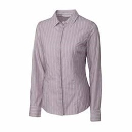 Cutter & Buck | Cutter & Buck LADIES' L/S Multi Stripe Shirt