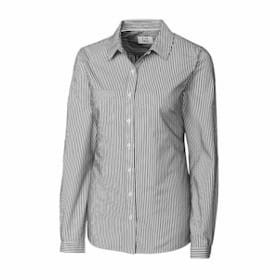 Cutter & Buck LADIES' L/S Mini Bengal Shirt