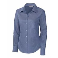 Cutter & Buck | Cutter & Buck LADIES' L/SEasy Care Oxford