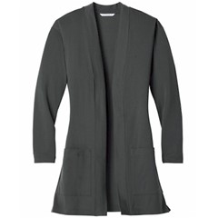 Port Authority | ® Ladies Long Pocket Cardigan