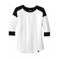 New Era | New Era® Ladies Heritage Blend 3/4-Slv Raglan Tee