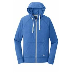 New Era® Ladies Sueded Cotton Full-Zip Hoodie