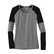 New Era | New Era® Ladies Tri-Blend Performance Baseball Tee
