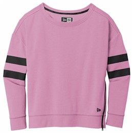 New Era | New Era ® Ladies Tri-Blend Fleece Varsity Crew