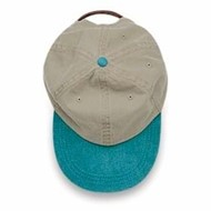 Adams Cap | Adams Two-Tone Khaki Crown