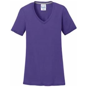 P&C® Ladies Performance Blend V-Neck Tee