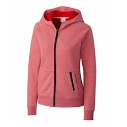 Clique by Cutter Buck | CLIQUE LADIES' Lund Lady Fleece Zip Hoodie