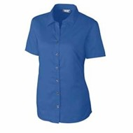 Clique by Cutter Buck | CLIQUE LADIES' S/S Avesta Twill Shirt