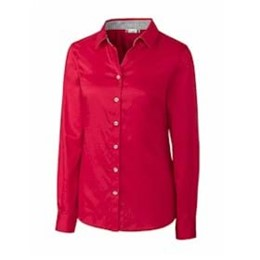 Clique by Cutter Buck | CLIQUE LADIES' Bergen Stain Resistant Twill Shirt