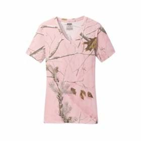 Russell Outdoors Realtree LADIES' V-Neck T-Shirt