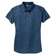 Port Authority | P&C Ladies S/S Value Denim Shirt