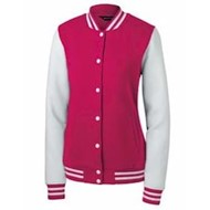 Sport-tek | Sport-Tek LADIES' Fleece Letterman Jacket