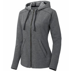 Sport-tek | SportTek Ladies Fleece Full-Zip Hooded Jacket