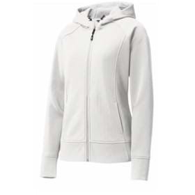 Sport-Tek® Ladies Fleece Full-Zip Hooded Jacket