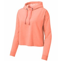 Sport-tek | SportTek Ladies Wicking Fleece Crop Pullover
