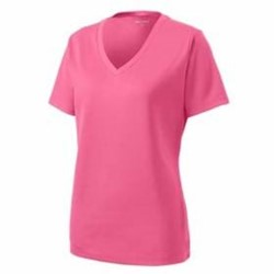 Sport-tek | Sport-Tek LADIES' PosiCharge RacerMesh V-Neck Tee