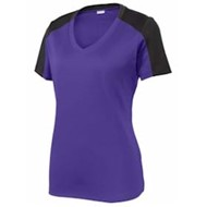 Sport-tek | Sport-Tek LADIES' PosiCharge V-Neck Tee