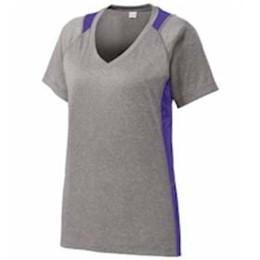 Sport-tek | Sport-Tek® Ladies Heather Colorblock Contender™
