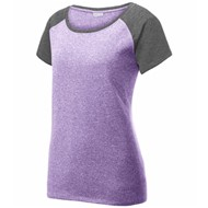 Sport-tek | Sport-Tek Ladies Heather Contender Scoop Neck