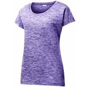 Sport-Tek® Ladies PosiCharge® Electric Heather Tee