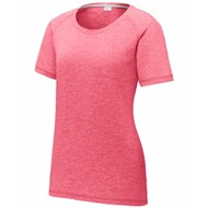 Sport-tek | Sport-Tek Ladies Tri-Blend Scoop Neck Raglan Tee