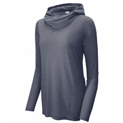 Sport-tek | SportTek Ladies TriBlend Wicking Hoodie