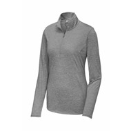 Sport-tek | Sport-Tek® Ladies Tri-Blend Wicking 1/4-Zip