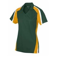 Sport-tek | LADIES' Tricolor Sport Wick Polo