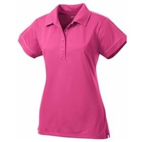 Sport-Tek LADIES' Contrast Stitch Micropique Polo