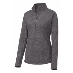 Sport-tek | Sport-Tek Ladies Reflect Heather 1/2-Zip Pullover