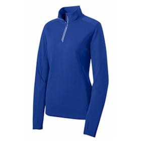 Sport-Tek® Ladies Wicking Textured 1/4-Zip