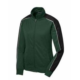Sport-Tek LADIES' Piped Tricot Track Jacket