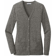 Port Authority | Port Authority ® Ladies Marled Cardigan Sweater