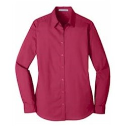 Port Authority | Port Authority® Ladies L/S Carefree Poplin Shir